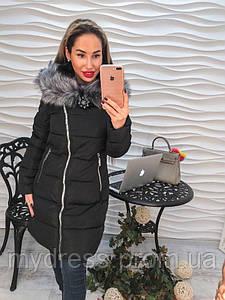 Пальто-косуха с капюшоном 988