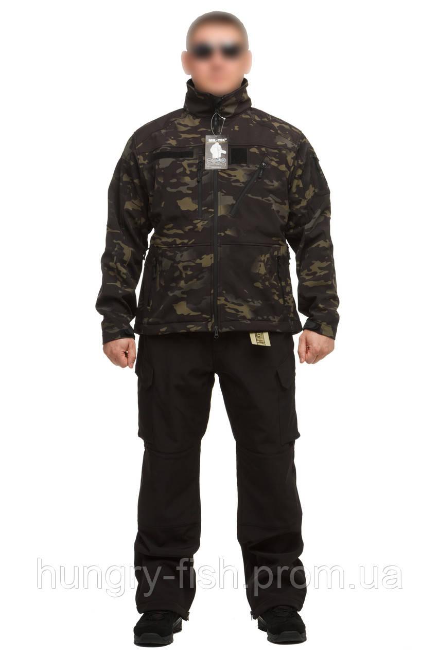 Куртка тактическая  Mil-tec( Mandrake black)