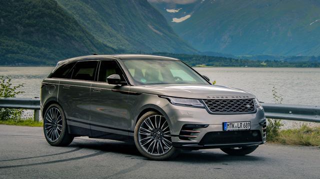 Диски и шины на Range Rover Velar