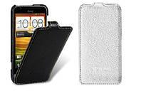 Чехол для HTC One V T320e - Melkco Jacka leather case, кожаный, разные цвета