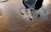 Защитный напольный коврик под кресло 1,0мм 1000*1250мм Прозрачный