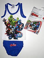 Комплект нижнего белья для мальчиков Marvel, 2/3 - 6/8 лет.