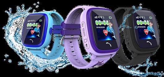 Детские часы с GPS Q300 aqua (df25)