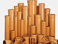 Трубы ПВХ для наружной и внутренней канализации