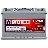 Аккумулятор Mutlu 6СТ-78 R+ 830 пуск