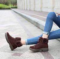 Отличные женские зимние ботинки