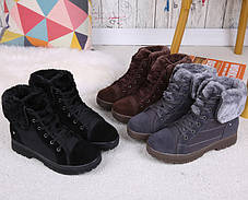Отличные женские зимние ботинки, фото 3