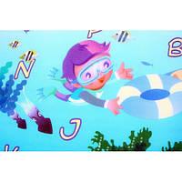 """Детский развивающий коврик  Babypol """"Подводный мир"""" размером 1800*2000*10 мм"""