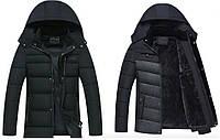 "Акция! Супер теплая Зимняя Куртка Black Classic ""GYFS"""
