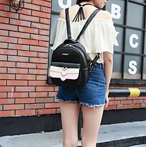 Красивый городской рюкзак с каскадным карманом, фото 2
