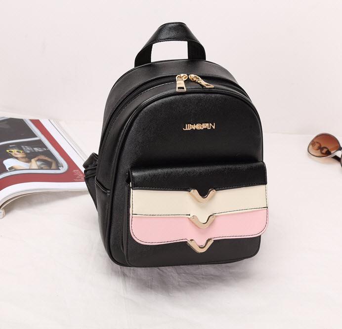Красивый городской рюкзак с каскадным карманом