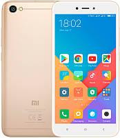 Смартфон Xiaomi Redmi Note 5a Gold  2/16Гб 5.5 +Бампер и Стекло