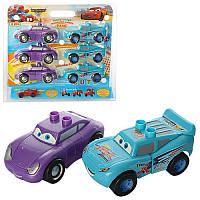 Набор машинок XY 52-1-2 Тачки (Cars Walt Disney) разборная 6 шт