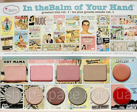 Палетка In The Balm of your Hand Volume