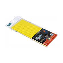 Набір стержнів для 3D-ручки 3Doodler Start (жовтий, 24 шт)