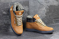 Мужские зимние ботинки Tommy Hilfiger рыжие 3493