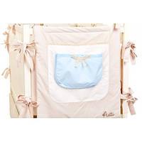 Карман на кроватку Putti Sea Silence, детское постельное белье