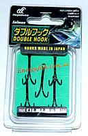 Двойник Hayabusa Double Hook №6 (5шт) паяный