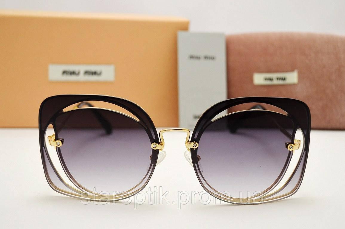 Солнцезащитные очки Miu Miu SMU 54S (серый градиент) - Star Optik в Одессе 41f78db508