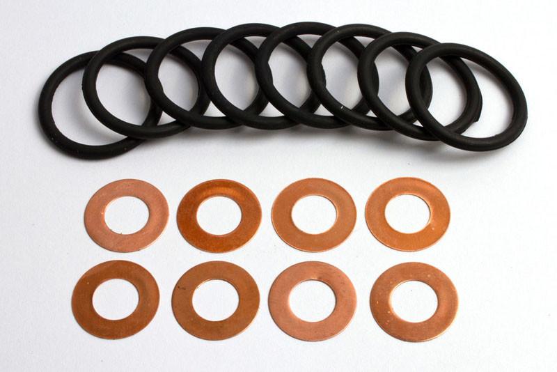 Уплотнение колец стакана форсунки ЯМЗ-238, МАЗ, К-700  (арт.1332)