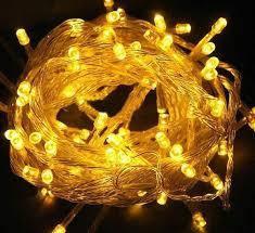 Светодиодная гирлянда желтая 100 Led , фото 2