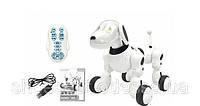 Робот Собака интерактивная танцует, свет и звук, реагирует на команды, английский