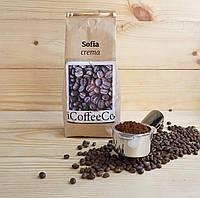 Кофе молотый смесь София, 20% арабика, 80% робуста