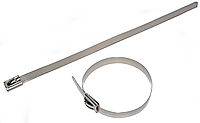 Стяжка стальная, нержавеющая 4,5х300 (упаковка 100 шт.)