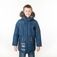 """Детская зимняя куртка """"Монклер"""" для мальчика"""