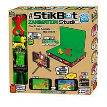 Игровой набор для анимационного творчества STIKBOT S2 PETS – СТУДИЯ Z-SCREEN (2 фиг., штатив, сцена)