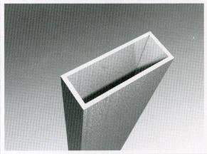 Труба  алюминиевая прямоугольная 20х10х2 мм 6060 Т6, фото 2