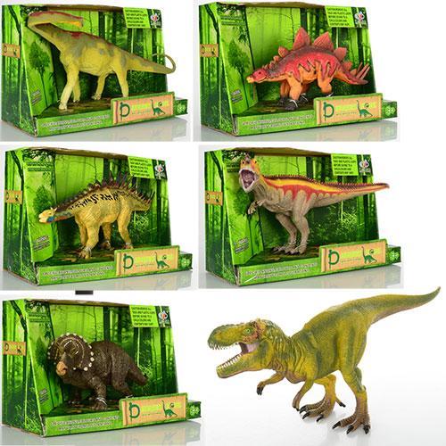 Динозавр Q9899-303  от 22 до 29см, 6 видов, в кор-ке, 28-18-12 см