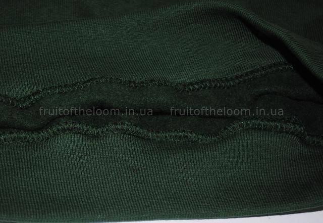 Тёмно-зелёный детский классический реглан