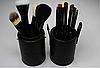 Профессиональный набор кистей MAC в 12 штук тубусе, фото 3