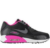 "Кроссовки Nike Air Max 90 GS ""Black""  (топ реплика)"