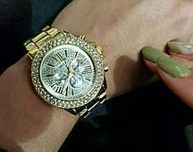 Женские часы Michael Kors  золотые.
