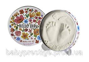 Набор для отпечатков ручек и ножек Baby art Мagic Box, цветы