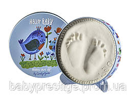 Набор для отпечатков ножки и ручки Baby art Мagic Box, Птички