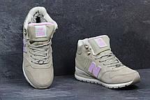 8c33ce711dbf Высокие зимние кроссовки New Balance 696 Revlite бежевые 36р, фото 2
