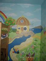 Роспись детских комнат