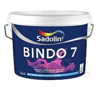 Матовая моющаяся краска для стен и потолка BINDO 7  BW(5л.)