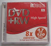 """DVD-RW диск """"Ricon"""" в коробке"""