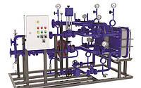 Модульные тепловые пункты повышенной мощности 800/1000 - 10,000 кВт EasyHeat Plus  Spirax Sarco