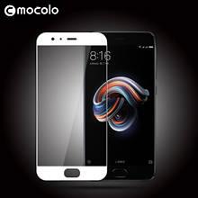Защитное стекло Mocolo 2.5D 9H на весь экран для Xiaomi Mi Note 3 белый