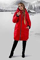 Зимняя куртка удиненная