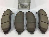 Колодки тормозные NISSAN LEAF передние (производство NISSAN)