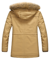 Стильная мужская зимняя куртка. Модель 61679, фото 4