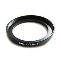 Повышающее степ кольцо 37-43мм для Canon, Nikon