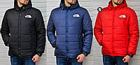 Мужская утепленная куртка The North Face 3 цвета в наличии