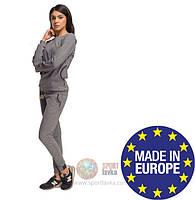 Спортивный женский костюм утепленный Paulo Connerti (original) свободный, комплект